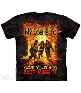 Save Your Ass - Fire Dept. T Shirt The Mountain