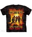 Sauvez vos fesses ! T-shirt Pompier The Mountain
