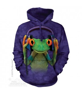 DJ Peace - Adult Amphibian Hoodie The Mountain