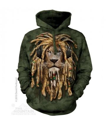 DJ Jahman - Adult Big Cat Hoodie The Mountain