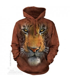 Sweat shirt à capuche Tigre The Mountain