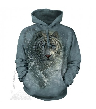 Wet & Wild - Adult Big Cat Hoodie The Mountain