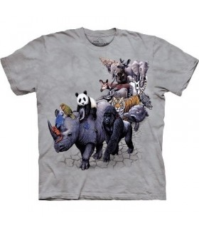 T-Shirt la Parade des Animaux par The Mountain