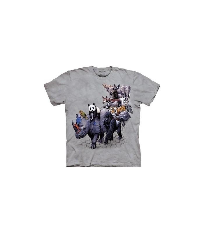 T-Shirt la Parade des Animaux par The Mountain