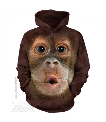 Sweat shirt à capuche Bébé Orang-Outan The Mountain