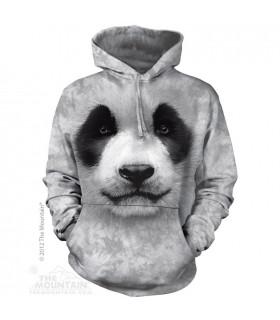 Sweat shirt à capuche Panda The Mountain