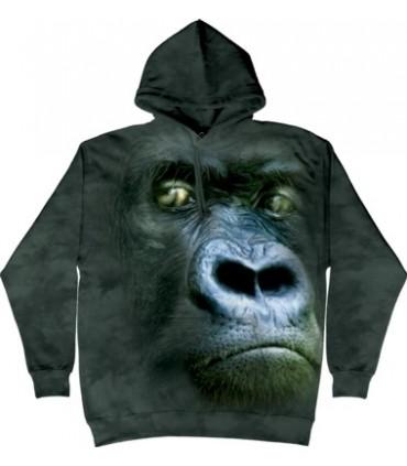 Sweat shirt à capuche Gorille The Mountain