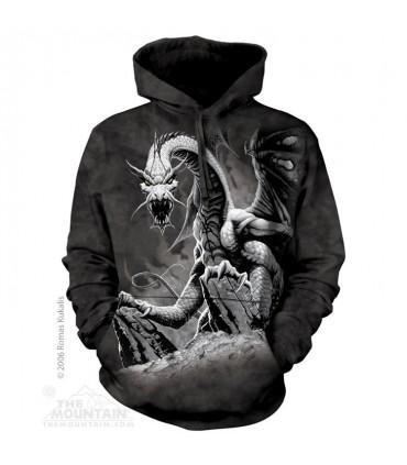 Black Dragon - Adult Dragon Hoodie The Mountain