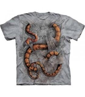 T-Shirt Boa Constrictor par The Mountain
