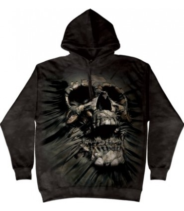 Breakthrough Skul - Adult Skull Hoodie The Mountain