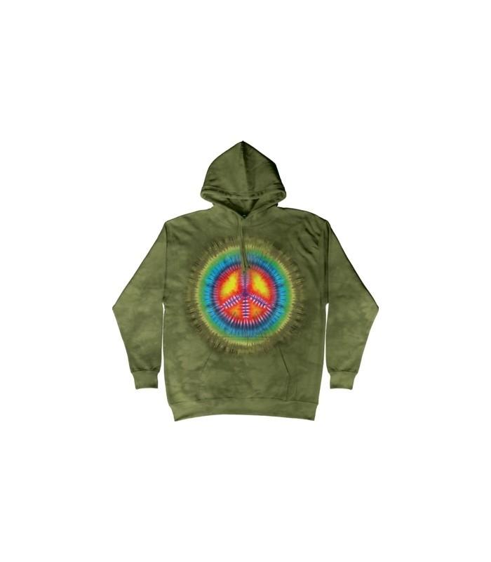 Paix - Sweat shirt à capuche Inspiration The Mountain