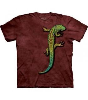 T-Shirt Lézard par The Mountain