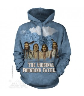 Rushmore Originals - Adult Native American Hoodie Mountain
