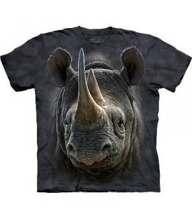 Black Rhino - Animal T Shirt Mountain