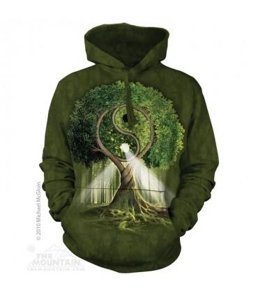 Yin Yang Tree - Adult Nature Hoodie The Mountain