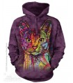 Sweat shirt à capuche Chat Abyssin The Mountain