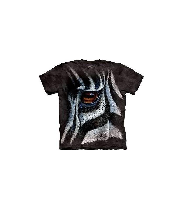 Zebra Eye - Animal T Shirt Mountain