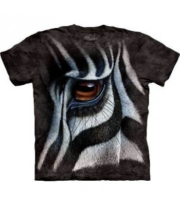 Zebra Eye - Animal T Shirt Mountain