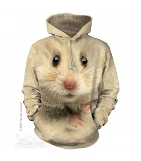 Hamster Face - Adult Pet Hoodie The Mountain
