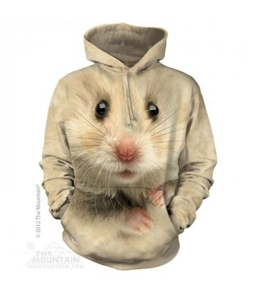 Sweat shirt à capuche Hamster The Mountain