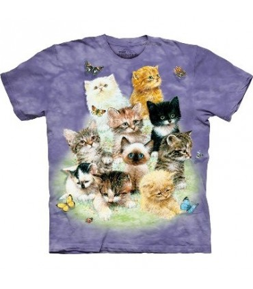 10 Kittens - Cats Shirt The Mountain