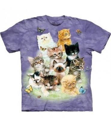 T-Shirt 10 Chatons par The Mountain