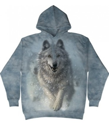 Snow Plow - Adult Wolf Hoodie The Mountain