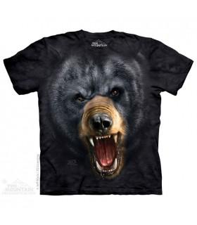Aggressive Nature - Bear T Shirt The Mountain