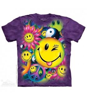 Paix et Joie - T-shirt Inspiration The Mountain