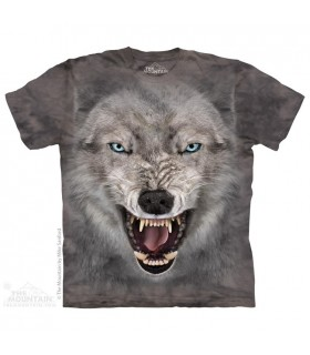 Loup Terrifiant - T-shirt Loup The Mountain