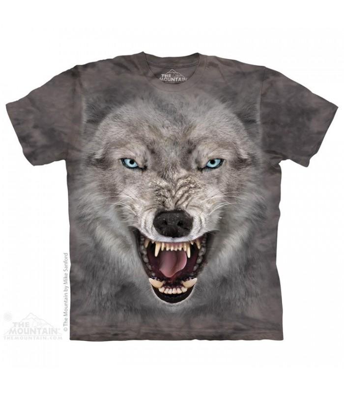 Terror Wolf - T Shirt The Mountain