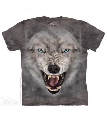 Loup Terrifiant - T-shirt Loup The Mountain