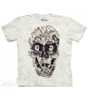 Tape Head - Skull T Shirt The Mountain