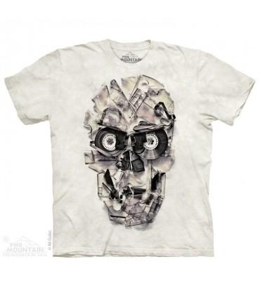 Tape Head - Skull T Shirt The Mountain