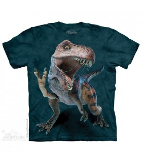 T-Rex Pacifique - T-shirt Dinosaure The Mountain