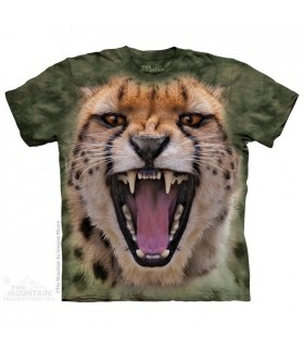 Wicked Nasty Cheetah - Big Cat T Shirt The Mountain