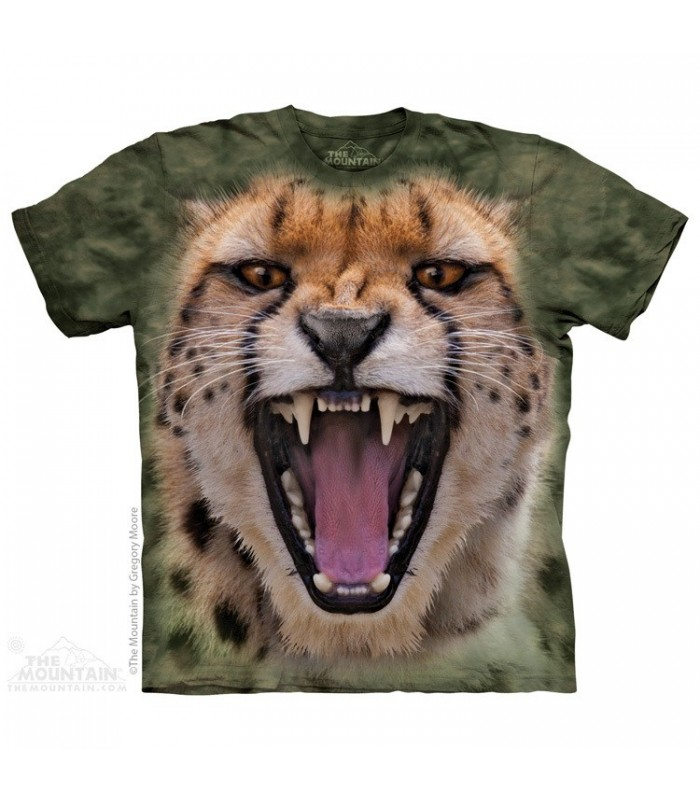 Méchant Guépard - T-shirt Félin The Mountain