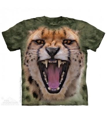 Wicked Nasty Cheetah - Big Cat T Shirt The Mountain