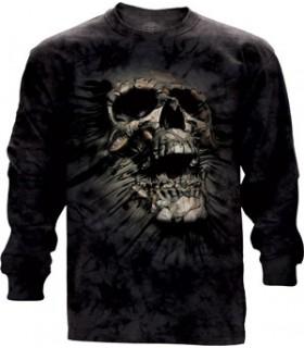 T-shirt manche longue Crâne The Mountain