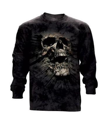 Breakthrough Skull - Long Sleeve T Shirt The Mountain