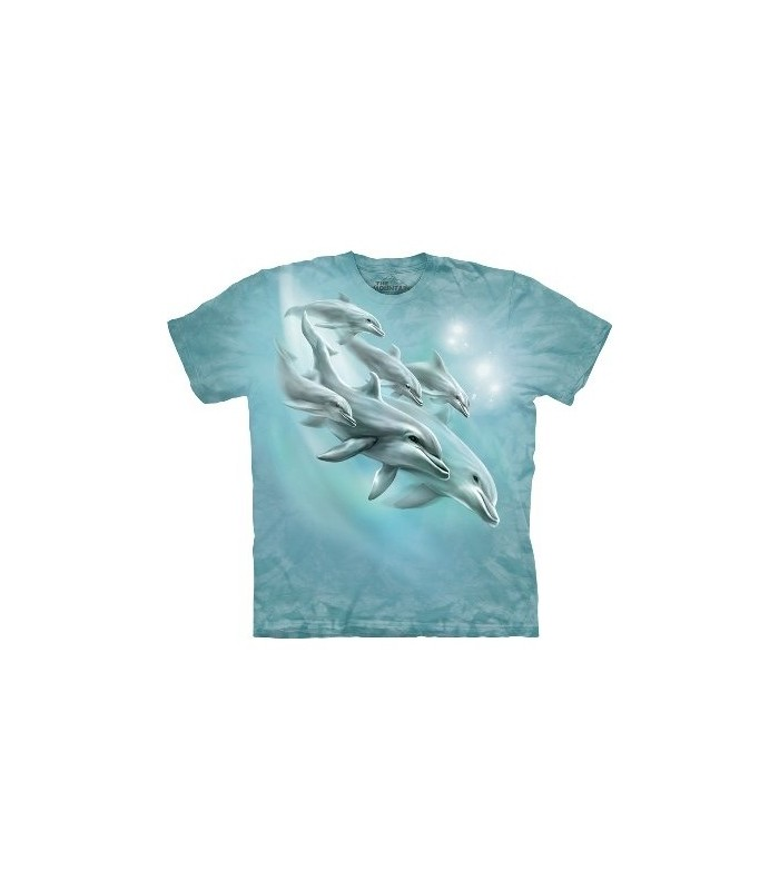 T-Shirt Dauphins en plongée par The Mountain