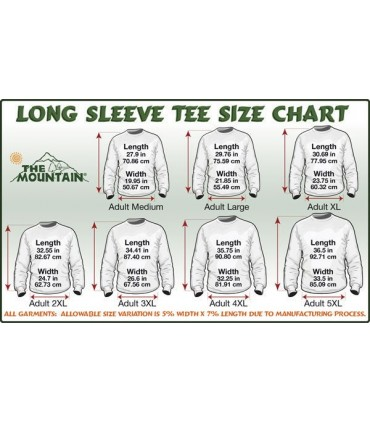 White Tiger Face - Long Sleeve T Shirt The Mountain