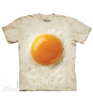 Fried Egg - Food T Shirt The Mountain
