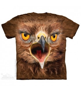 Crazy Hawk - Bird of Prey T Shirt The Mountain