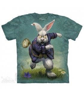 T-shirt Lapin Blanc The Mountain