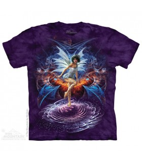 Vortex Fairy - Fantasy T Shirt The Mountain
