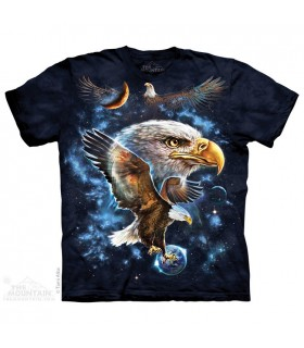 Cosmic Eagle - Bird of Prey T Shirt The Mountain