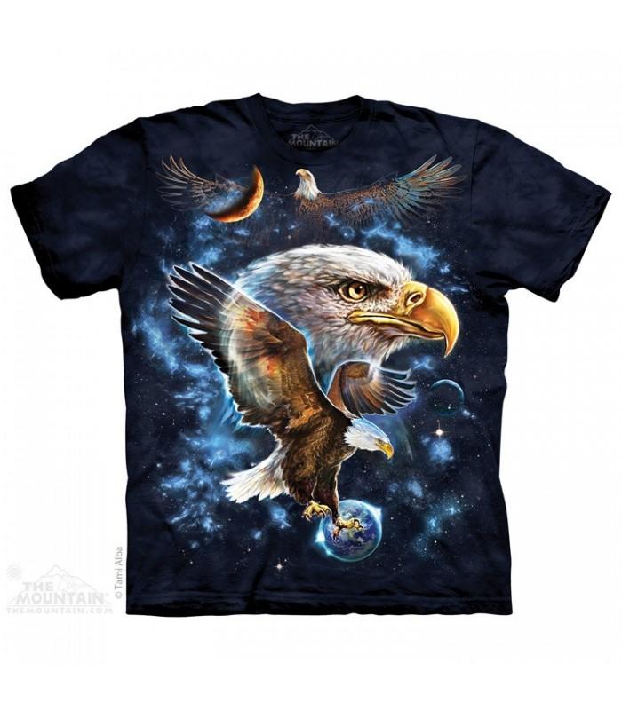 Cosmic Eagle - Bird of Prey T Shirt The Mountain