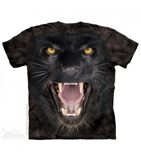 Aggressive Panther - Big Cat T Shirt The Mountain