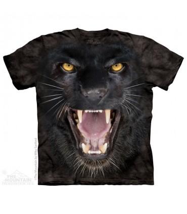 Aggressive Panther - Big Cat T Shirt The Mountain